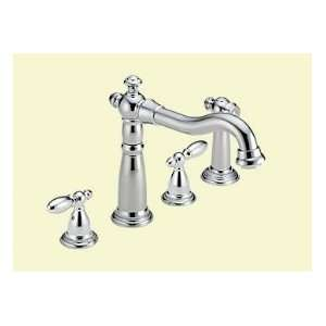 DELTA Two Handle Kitchen Faucet W/ Spray 2256 LHP Chrome