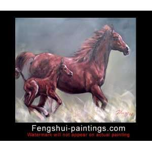 Horse Painting, Wall Art Painting Horse, Horse Art Oil Painting