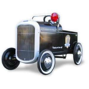AIRFLOW 1932 Police Cruiser Pedal Car Toys & Games