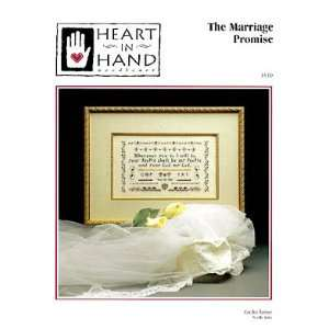 Marriage Promise, The   Cross Stitch Pattern Arts, Crafts & Sewing