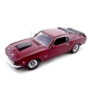 1969 Ford Mustang Boss 429 1/24 Diecast Model Toys