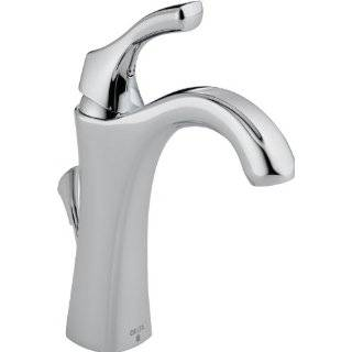 Delta Addison 592 PT DST Single Handle Centerset Lavatory Faucet, Aged