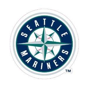 Seattle Mariners Team Auto Window Decal (12 x 10  inch