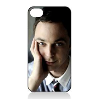 JIM PARSONS iphone 4 HARD COVER CASE Big Bang Theory