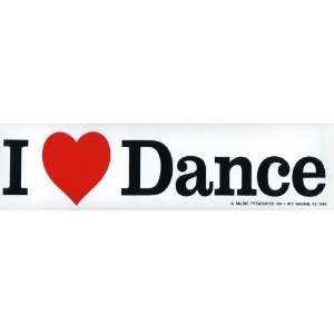 Love Dance Bumper Sticker
