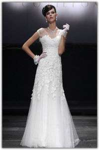 sweetheart custom bridal Wedding Dress evening gown ball prom gauze