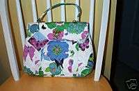 Vera Bradley Retired Limited Edition Nicole Sateen Bag