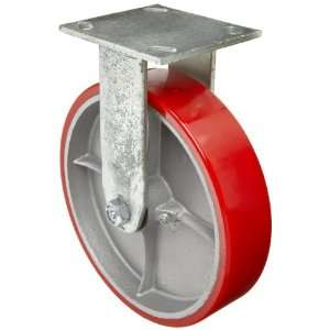 EZ Roll EZ 0820 MOP R 8 Diameter Polyurethane/Steel Wheel Medium