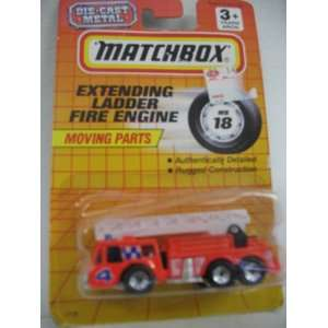 Matchbox 164 Scale Extending Ladder Fire Engine Toys & Games
