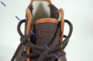 POLO RALPH LAUREN FRANCISCO MENS 12 SHOES BROWN NIB NEW