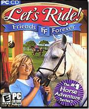 LETS RIDE FRIENDS FOREVER * PC HORSE ADVENTURE * NEW 755142714208