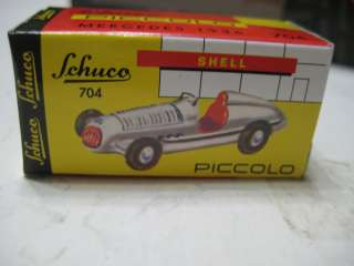 Schuco Piccolo (Germany) Mercedes Benz 3 car Silberpfeile Gift Set 1