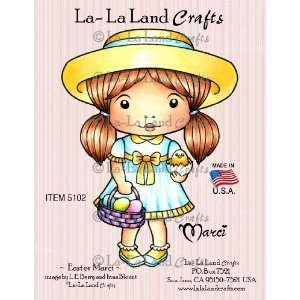 La Land Crafts Cling Rubber Stamp, Easter Marci Arts, Crafts & Sewing