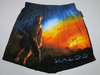 HALO 3 Gamer Xbox Mens Cotton Boxer Shorts Size M