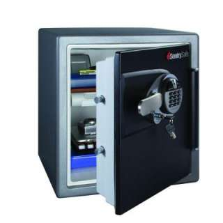 SentrySafe 1.2 cu. ft. Fire Safe Water Resistant Biometric Lock