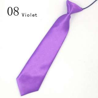 Boy Child Kid Baby School Wedding Elastic Necktie Tie