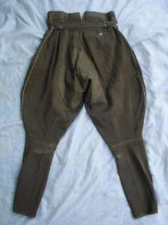 WWII ORIGINAL GERMAN WEHRMACHT OFFICER'S BREECHES