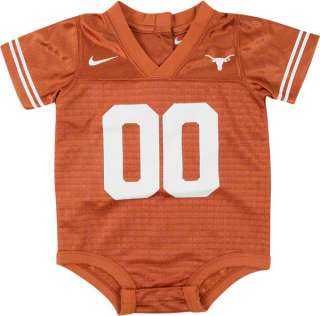 Texas Longhorns Baby Football Onesie 00 Jersey 6 9 mos