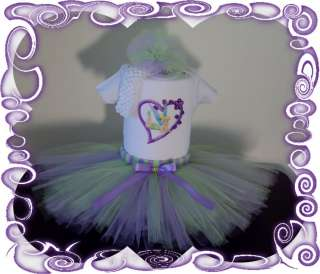 BABY GIRL TUTU DRESS ~TINKERBELL~CUSTOM BOUTIQUE SET,BIRTHDAY,★FREE