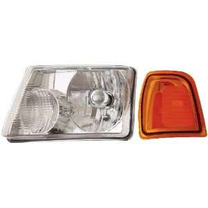 Anzo USA 111035 Ford Ranger Crystal Chrome Headlight Assembly   (Sold