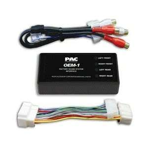PAC Plug&Play Add An Amplifier Kit Non Bose 1998 2006