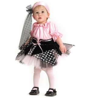 Little Pirate with Scarf Infant/Toddler Costume   Includes dress and