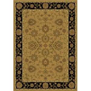 Home Dynamix Casablanca Hd1470 Beige Black 52 x 72 Area Rug