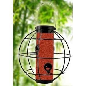 Perky Pet WB Zen Lantern Bird Feeder, Black Satin Sphere