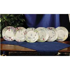 Royal Patrician Bone China 8 Dessert Plates Set of Six (6