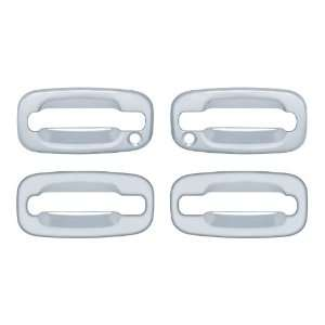 Brite Chrome 13106 Door Handle Cover; Chrome; 4 pcs.; w/Passenger Side