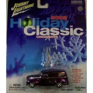Holiday Classic Ornaments 40 Ford Sedan Delivery PURPLE Toys & Games