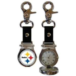 Pittsburgh Steelers Clip On Watch   NFL Football   Fan