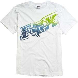 Fox Racing Techzilla T Shirt   2X Large/White Automotive