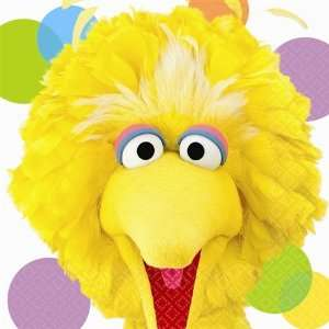 Sesame Street Party Big Bird   Lunch Napkins 16ct [Toy] [Toy