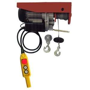 Heavy Duty Electric Hoist 1,500 lbs. Capacity with Remote