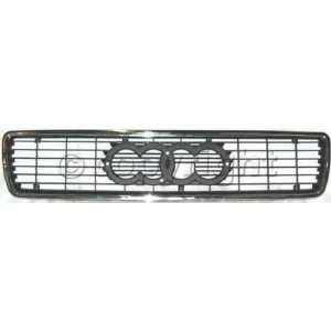 Audi 90 Chrome Grille Kit   with emblem space Grille Grill