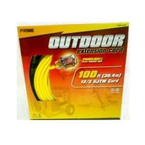 Prime Outdoor Extension Cord 100Ft