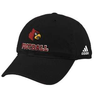 Louisville Cardinals Black Football Slouch Hat