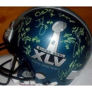 Green Bay Packers Signed / Autographed Super Bowl Helmet