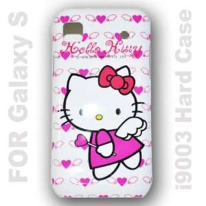 Hello Kitty Hard Back Case Cover for Samsung Galaxy S I9003   F Cell