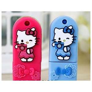 Hello Kitty Cartoon USB Flash Drive4GB,Slim Design