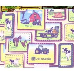 John Deer Juvenile Scenes Fleece