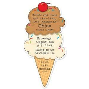 com Childrens Birthday Party Invitations   Two Scoops Birthday Party