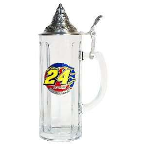 Jeff Gordon NASCAR 20oz Tall Lidded Stein  Sports