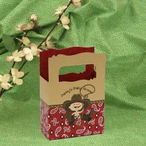 Little Cowboy   Mini Personalized Baby Shower Favor Boxes