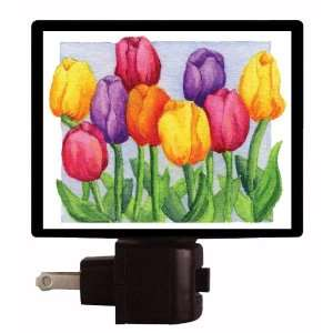 Floral / Flower Night Light   Joyful Tulips LED NIGHT