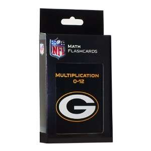 NFL Green Bay Packers Multiplication Flash Cards