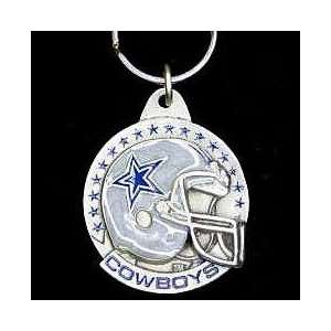 NFL Team Helmet Key Ring   Dallas Cowboys
