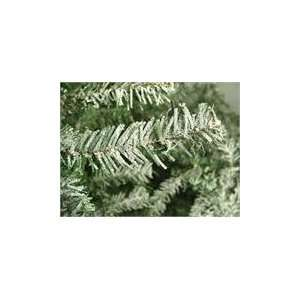 7 Pre Lit Frosted Alpine Artificial Christmas Tree