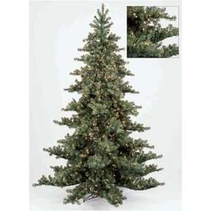 7.5 Evergreen Pre Lit Christmas Tree Nikko Fir Pine